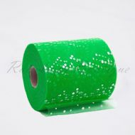 Emerald Sequin Tulle Roll